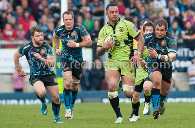 Exeter Chiefs vs Northampton Saints, LV= Cup Final, Sandy Park, 16 March 2014